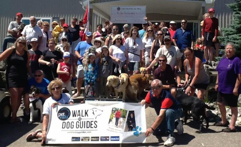 Congratulations to all who took part in the 2019 Pet Valu Walk for Dog Guides!